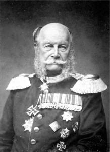 Król, później Cesarz Wilhelm I, którego imię nadano świnoujskim łaźniom.