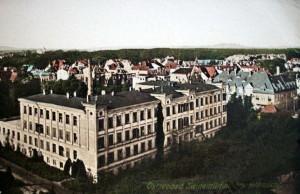 Rok 1916- podczas Wielkiej Wojny interes podupadł, ale sanatorium nadal prezentowało się okazale!