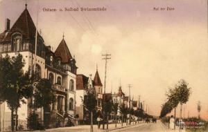 Ulica Żeromskiego- dawna Dunenstrasse