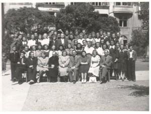 Fotografia 17 – Zakończenie roku szkolnego 1949 – widoczne harcerki