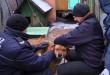 Ten pies miał na stałe przymocowaną obrożę do łańcucha. Żeby tego było mało, była tak mocno zaciśnięta, że wrzynała się zwierzakowi w kark. Foto: Wojciech Basałygo