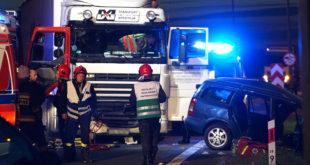 Wypadek zdarzył się kilkaset metrów od zdarzenia w którym zginęła trzyosobowa rodzina. Foto: kamienskie.info