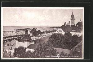 Widok z wieży Villa Splendit