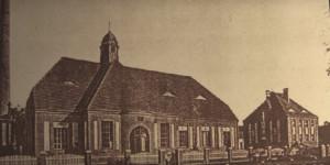 Jedna z najstarszych zachowanych fotografii stacji. Foto: archiwum