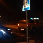 Do zdarzenia doszło na rondzie w Łunowie. Kierowca opla był kompletnie pijany. Foto: Adam Wójcik