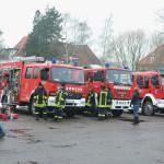 Strażacy ochotnicy z Polski i Niemiec też się zaangażowali w pomoc. Foto: Robert Ignaciuk