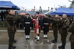 Przysięga wojskowa w Porcie Wojennym w Świnoujściu. Foto Marcin Purman (6)