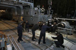 Ćwiczenia okrętów 8FOW na Zat. Pomorskiej. Foto Marcin Purman (2)