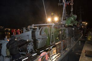 Ćwiczenia okrętów 8FOW na Zat. Pomorskiej. Foto Marcin Purman (3)