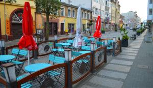Gastronomicy mają kilka pomysłów na ożywienie ulicy. Jednak potrzebują do tego pomocy władz miasta. Foto: Wojciech Basałygo