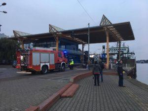 W momencie zgłoszenia nie było wolnej karetki, dlatego wysłano strażaków. Foto: Czytelnik Adam