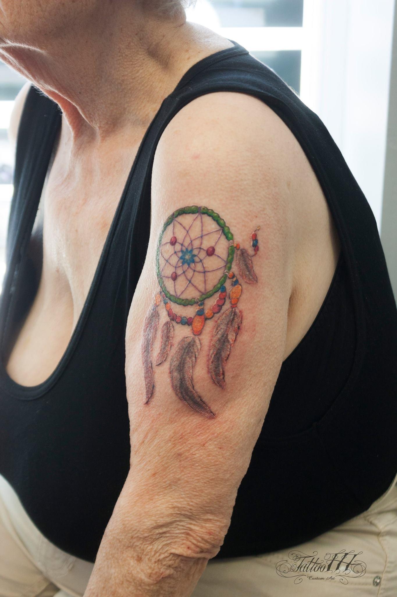 Pierwszy Tatuaż 80 Latki Złamała Wszelkie Konwenanse