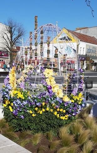 Wielkanocne dekoracje w mieście - Świnoujście